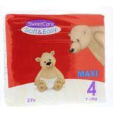 Sweetcare Luiers Soft & Easy Maxi Nr 4 7-18 Kg (27st)
