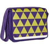 LÄSSIG Luiertas Casual Messenger Bag dark purple