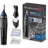 Remington NE3870 Nano Series Neushaartrimmer Zwart/Blauw
