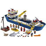 Lego City 60266 Onderzoekschip
