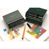 Faber Castell FC-167147 Tekenstift Pitt Artist Pen Brush 24-delig Studiobox
