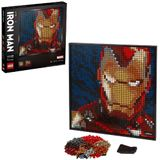Lego Wall Art 31199 Iron Man