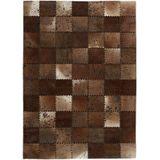 Forte Collection | Vloerkleed Demeter textiel bruin 290x200x0.5 cm rechthoekige vloerkleden | NADUVI