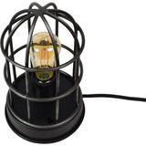 Jax Design | Tafellamp Barn lengte 12cm x breedte 12cm x hoogte22cm zwart Metaal tafellampen | NADUVI outlet