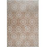 More99   Vloerkleed Bardot polyester bruin 80.00x300.00x0.70 cm rechthoekige vloerkleden   NADUVI