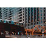 Wandkraft | Wanddecoratie NY High Line kunststof multicolour 180x120 cm decoratieve wandobjecten | NADUVI