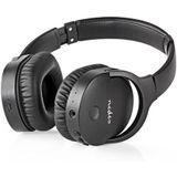 Nedis HPBT2260BK Draadloze Hoofdtelefoon Bluetooth® Over-ear Actieve Ruisonderdrukking (anc) Zwart