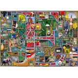 Ravensburger Puzzel Colin Thompson Awesome Alphabet E&F 1000 Stukjes