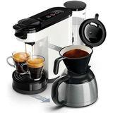 Philips HD6592/00 Senseo Koffiezetapparaat 1L 1450W Zwart/Wit