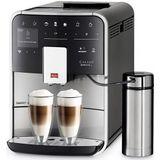 Melitta F860-100 Melitta Barista Smart TS SST Espressomachine 1.8L 1450W Zwart/RVS