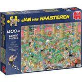 Jumbo Puzzel Jan Van Haasteren Krijt Op Tijd 1500 Stukjes
