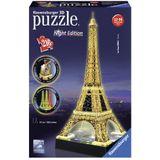 Ravensburger 3D Puzzel Eiffeltoren Night Edition 216 stukjes