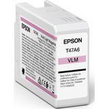 Epson Singlepack Vivid Light Magenta T47A6 UltraChrome Pro 10 ink 50ml