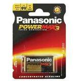 Panasonic 9V block Pro Power 6LR61