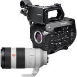Sony PXW-FS7+ 100-400mm GM OSS