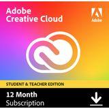 Adobe Creative Cloud Student & Docent versie 100GB - 1 gebruiker - 1 Jaar - (Windows/Mac)
