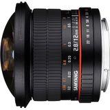 Samyang 12mm F/2.8 ED AS NCS Fish-eye Canon EOS M