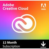 Adobe Creative Cloud Individual - 100GB - 12 month / 1 device - PC/MAC *DOWNLOAD*