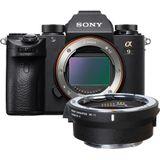 Sony A9 body (ILCE9.CEC) + Sigma MC-11 Mount Converter Canon EF-E