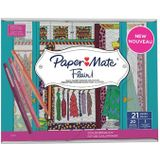 Paper Mate fineliner Flair coloring kit Glam-Closet