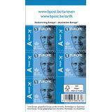 BPost postzegel tarief 1 Europa, Koning Filip, blister van 50 stuks, non-proir