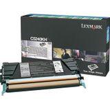Lexmark Toner Kit zwart return program - 8000 pagina's - C5240KH