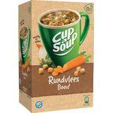 Cup-a-Soup rundvlees, pak van 21 zakjes