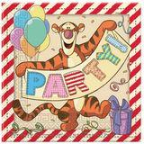 Winnie the Pooh Alphabet Servetten