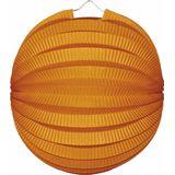 Lampion Bol Oranje 23 cm
