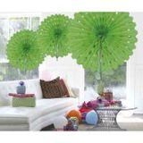 Honeycomb Fan Lime Groen