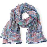 Sjaaltje Delicate Paisley van 100% zijde Roeckl multicolour