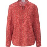 Blouse Peter Hahn rood