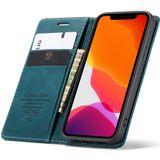 CaseMe - Slim Retro Wallet Case iPhone 12 Pro Max 6.7 inch