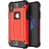 Mobiq - Rugged Armor Case iPhone XS Max Hoesje