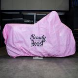 Datona Universele roze motorhoes voor binnenstalling - DT-57244-Pink