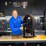 Datona Motorbanden balanceerapparaat - DT-57514 - Mat zwart
