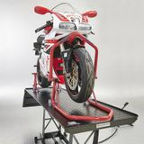 Datona Rode paddockstand Xtreme - voorwiel - DT-57106 - Rood