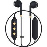 Happy Plugs Wireless II Draadloze In-Ear Bluetooth Headset Zwart/Goud