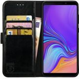 Rosso Element Samsung Galaxy A9 (2018) Hoesje Book Cover Zwart