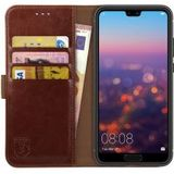 Rosso Element Huawei P20 Hoesje Book Cover Bruin