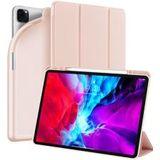 Dux Ducis Osom Series Apple iPad Pro 12.9 (2020) Hoesje Tri-fold Roze