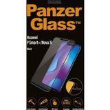 PanzerGlass Huawei P Smart Plus Case Friendly Screenprotector Zwart
