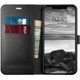 Spigen Wallet S Flip Case Apple iPhone XS Max Black