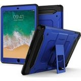 Spigen Tough Armor Tech Case Tempered Glass Apple iPad (2018) Blauw
