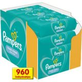 Pampers Fresh Clean Billendoekjes - 64 stuks