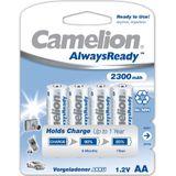 Camelion Always Ready 2300mAh AA 4x