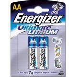 Energizer AA lithium 2x