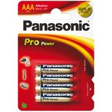 Panasonic Pro Power Alkaline AAA 4x