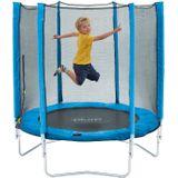 Plum trampoline Junior met veiligheidsnet blauw 4,5ft
