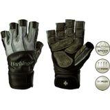 Harbinger Men's Bioform Fitness Handschoenen met Wrist Wrap - Grijs/Zwart - XXL